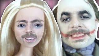 Figürlerle Yüzümüzü Yer Değiştirdik - Barbie, Thor, Joker