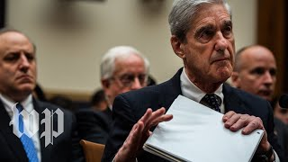 Watch: Robert Mueller's testimony on Trump and Russia investigation