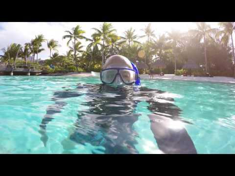 Swim With The Fishes   Bora Bora 2015