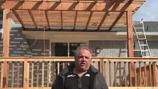 Dallas deck and dallas pergola installation in all DFW
