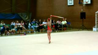 Connie Miller Hoop Routine (Rose Cup 2013)