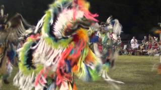 Fancy War Dance Contest at Pawnee Indian Veterans Homecoming 2013