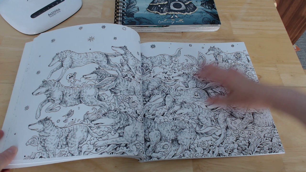 Animorphia By Kerby Rosanes Colouring Book Review