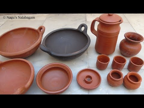 Different type of Mudpot Vessels and Price - Clay pot Varieties - Mudpot Vessels - Earthen pot