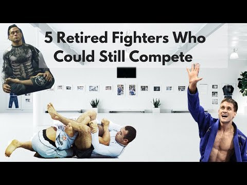 5 Retired Jiu Jitsu Fighters Who Could Still Compete With The Best