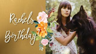 VLOG 118: We surprised Rachel for her Birthday
