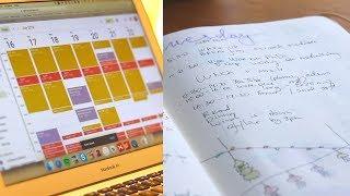 Как я планирую и веду ежедневник