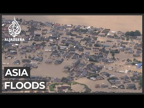 Dozens killed in southern Japan floods