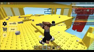 Playing Roblox Doomspire Brickbattle