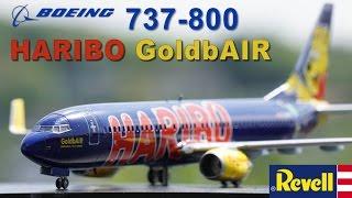 プラモを作ろう  レベル 1/144 B737-800 HARIBOジェット / Revell B747-800 1:144 HARIBO jet