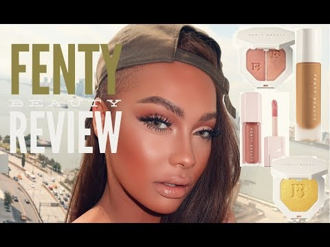 FENTY BEAUTY by RIHANNA REVIEW AND SWATCHES | SONJDRADELUXE