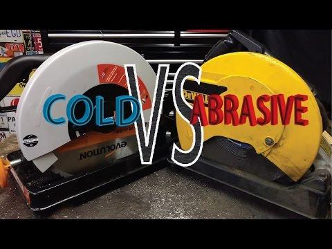 Abrasive chop saw VS Dry Cut saw