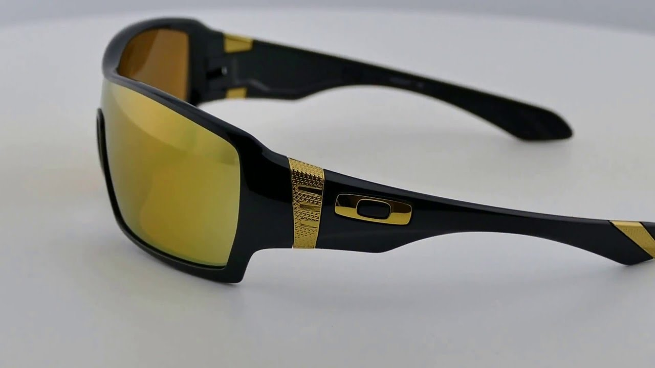 Oakley Offshoot Polished Black Shaun White Gold Series  24K Iridium -  OO9190-07 - YouTube dce557d798