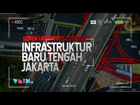 Infrastruktur Baru Jakarta: Senen Underpass Extension Pemecah Macet