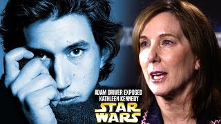 Adam Driver Exposes Kathleen Kennedy Again! (Star Wars Explained) Mike Zeroh