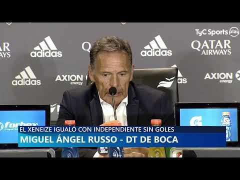 Conferencia De Prensa - Miguel Ángel Russo