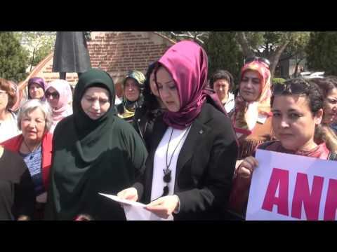 Kadınlardan Kılıçdaroğlu'na Protesto izle