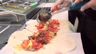 "Taco Bell -- ""double Wide Burrito"" 