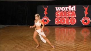 Salsa Solo 2015 - Pro Female Salsa Soloist Finals - Madalyn Milazzo