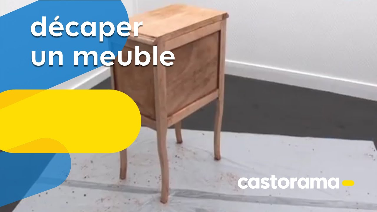Décaper Un Meuble Décaper Un Meuble (castorama) - Youtube