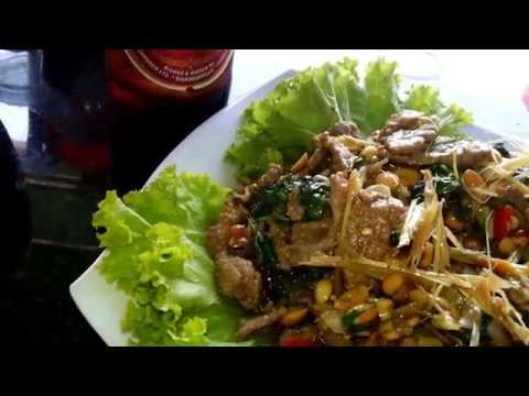 Asian Travel - Touring Phnom Penh Streets & Tasting Local Food - Youtube