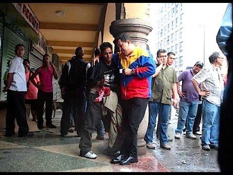 Oliver, joven rescatado por el Comandante Chávez en una calle de Caracas