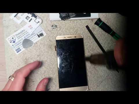 Замена экрана (модульного дисплея) телефона Prestigio 5530 Grace Z5 Duo GOLD часть 1