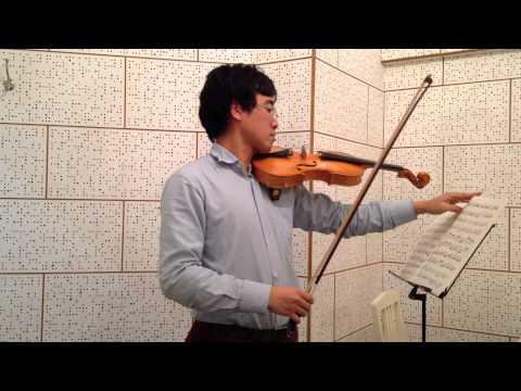 Suzuki Violin School Book 4 no. 5 Concerto in a minor, Op. 3, No. 6 3rd mvt: Presto