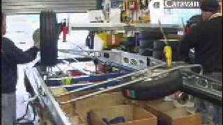 Bailey Caravans factory tour part 1