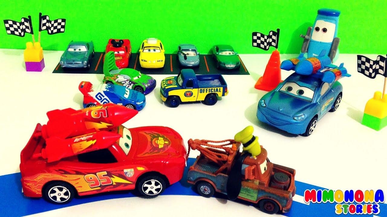 Disney pixar cars 1 y 2 personajes coleccion de carros juguetes para ni os toys for kids - Juguetes de cars disney ...