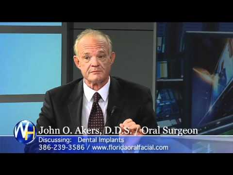 Dr. John Akers discusses  Dental Implants with Randy Alvarez
