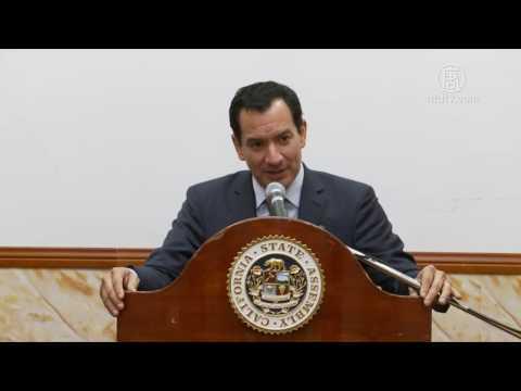 华人女婿加州众议长谈入室窃盗案增