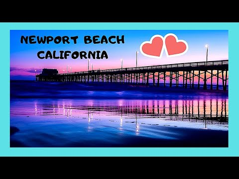 Walking Through Beautiful Newport Beach California Usa