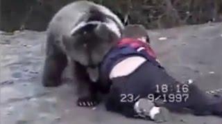 Young Khabib Nurmagomedov Wrestling A Bear
