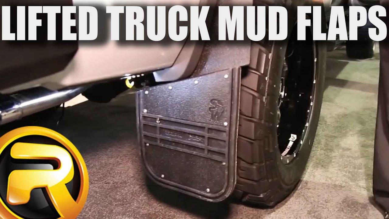 Husky Liners Kickback Mud Flaps at SEMA 2015 - YouTube