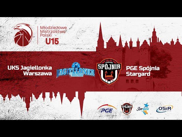 UKS Jagiellonka Warszawa - PGE Spójnia Stagard
