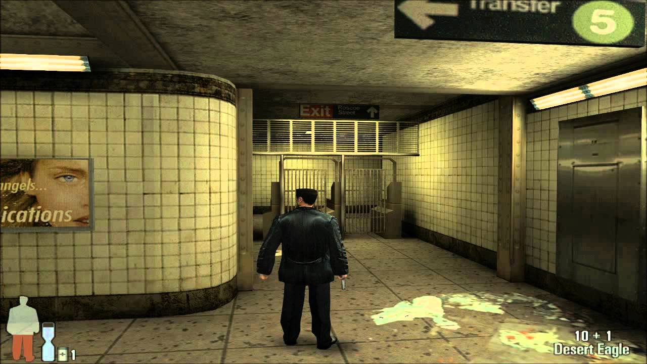 Max Payne 1 Gameplay Pc Youtube