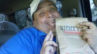 Dickey's Bbq Pit-pulled Pork Cornbread Sandwich Review