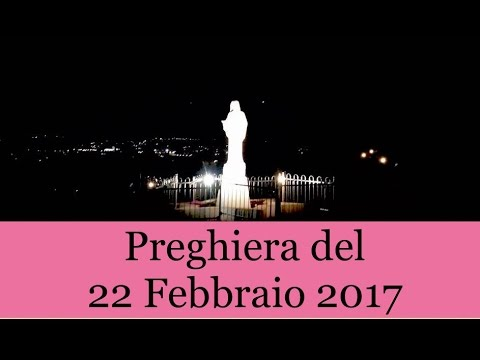 f194c389fa Preghiera del 22 Febbraio 2017   La Luce di Maria - YouTube