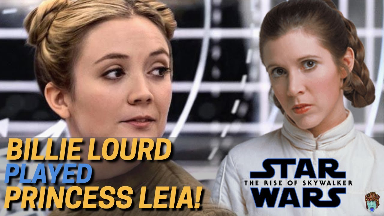Leia Lives On Through Billie Lourd In The Rise Of Skywalker