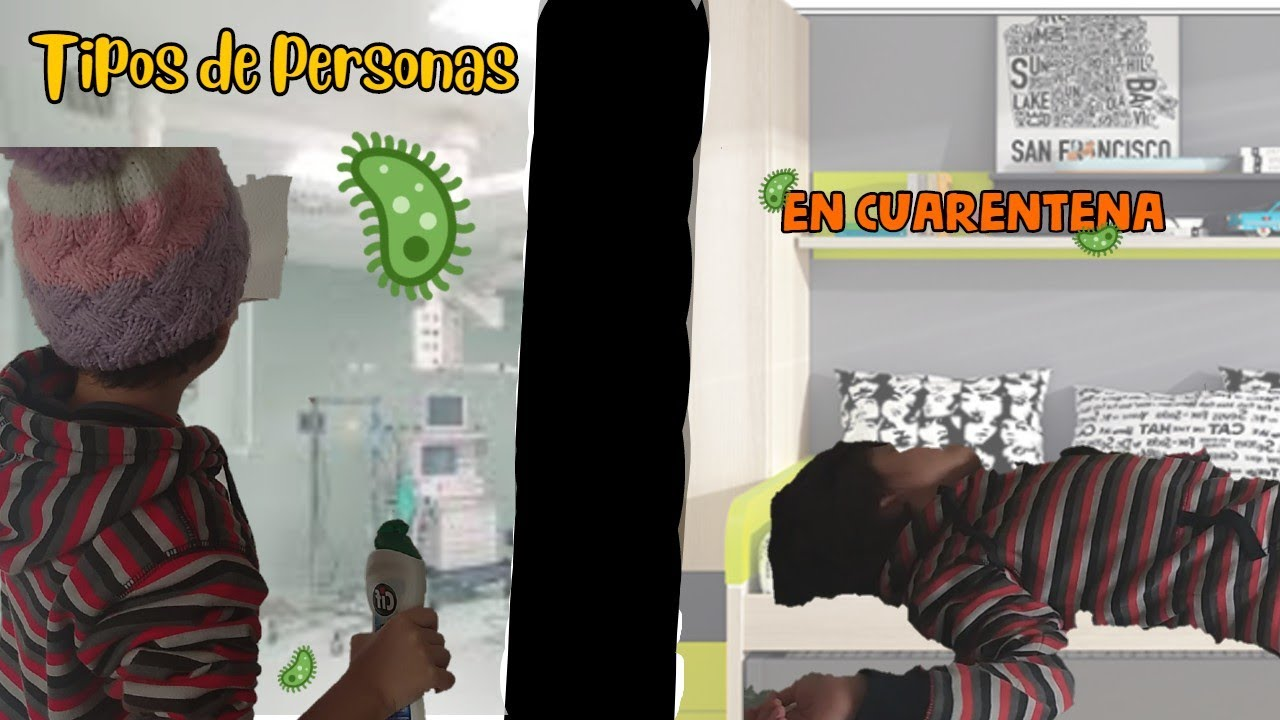 ¡TIPOS DE PERSONAS EN CUARENTENA! - Pila la kika!