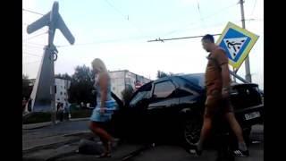 В Орле «Логан» сбил двух женщин на пешеходном переходе и остановке