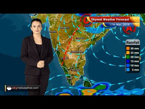 Weather Forecast March 17: Varanasi, Kolkata to witness rain; strong winds likely | Skymet Weather