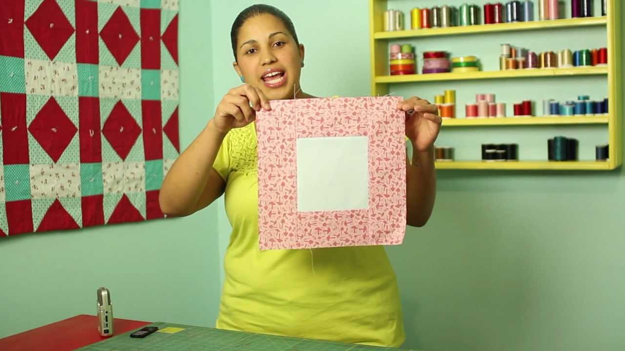 How To Make A Square In A Square Quilt Block Block12 Of 12 Video