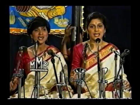 Priya Sisters_147th Thyagaraja Aradhana, Thiruvaiyaru (1994)_10m 15s
