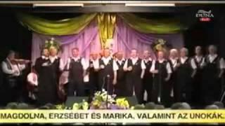 Abasári Kórus - Katonadalok - Duna TV Nótashow - Kívánságkosár (2010)