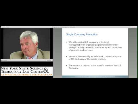 NYS STLC Webcast - US Commercial Service: Connecting to Global Markets
