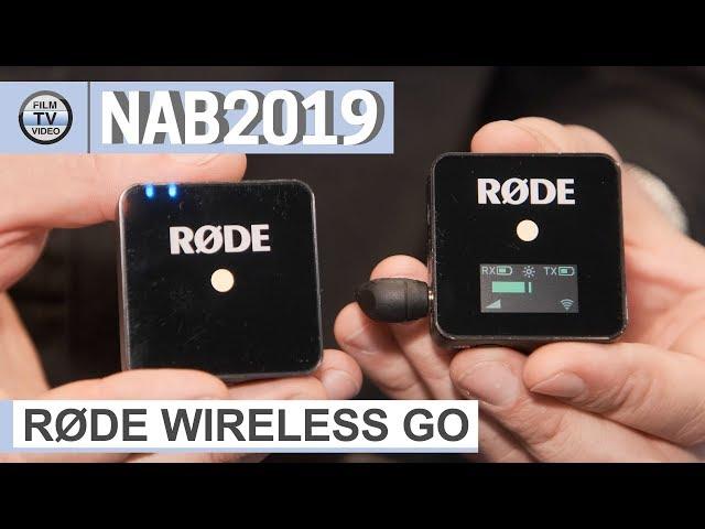 NAB2019: Røde Wireless Go