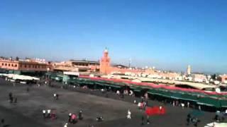 Marrakech , The Prayer Call