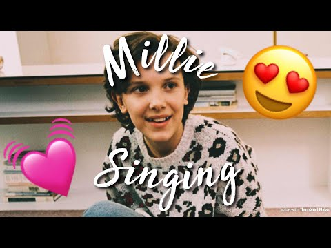 Millie Bobby Brown Singing Compilation